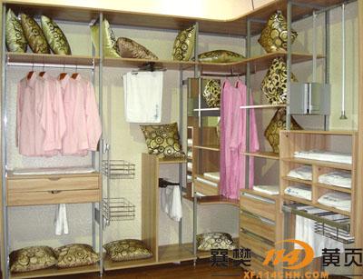 钢木转角衣柜by126